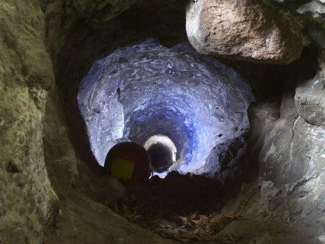 Fatörzs barlang a Maros mentén (Deák Zsolt felvétele)