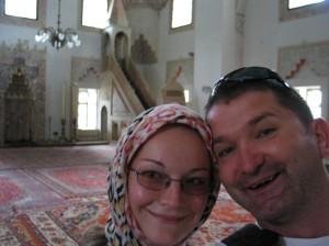 Egy szarajevói mecsetben...
