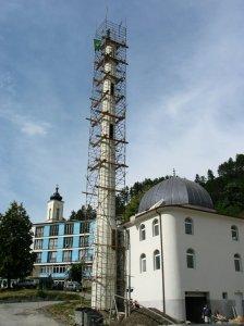 Srebrenica község központjában újabb mecset épül.