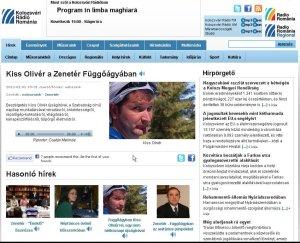 A Kolozsvári Rádió magyar adásának honlapjáról: www.radiocluj.ro/hu
