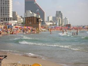 telaviv tengerpart