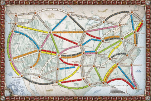 ticket to ride amerika