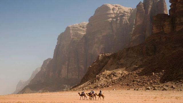 wadi rum sivatag
