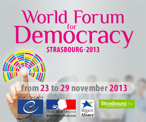 world forum for democracy 2013