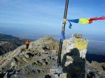 Fogarasi-havasok: magányosan a Negoj-csúcs fele