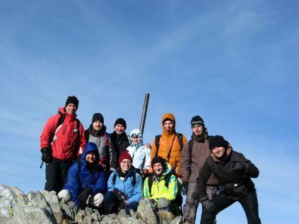Fogarasi-havasok: Naná, hogy csúcsfotó a Negoj-csúcson (2535 méter)