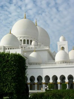 Sheikh Zayed Grand Mosque. Sheikh Zayed bin Sultan Al Nahyan (1918-2004) was the first President of the UAE and the ruler of Abu Dhabi.
