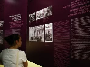 Megrázó képek, dokumentumok az Örmény Genocídium Múzeumban