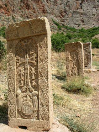 A Noravank kolostor udvara
