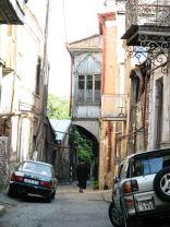 Eléggé lehangoló Tbiliszi óvárosában sétálni
