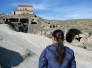 Upliszcihe/Uplistsikhe sokáig karavánok fontos pihenőhelye volt, kereskedelmi központ volt