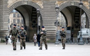 francia katonak