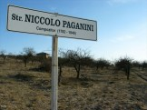 Paganini tudja, hogy Isten háta mögötti utcát neveztek el róla?! (Saját felvétel)