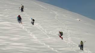 Néha küzdősporthoz hasonlít a téli túrázás