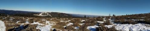 Szombat, január 2-a, Kisbánya üdülőtelep környéke. Milyen jó lenne egy kicsit több hó... (László Tamás felvétele)