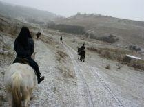 Külön varázsa van a téli lovaglásnak