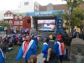 Szombaton, június 18-án este éppen az Izland-Magyarország Eb-mérkőzés kezdete előtt érkezünk Reykjavikba. Annyit merünk kiáltani, hogy Ria, Ria.. :)