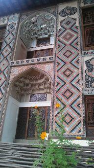 Sheki, a kán nyári palotája