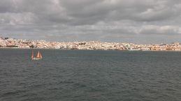Minden nap ilyen kilátásban volt részünk Lisszabonban