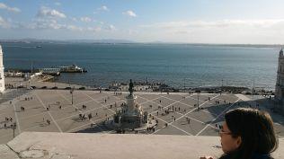 Lisszabon, Főtér... :)