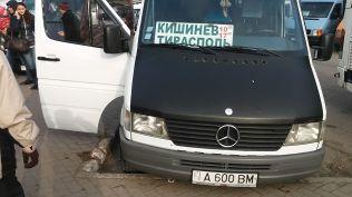 Vele megyünk Kisinyovból Tiraszpolba