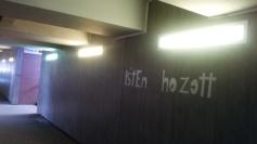 Igen kellemes meglepetés a kolozsvári vasútállomás aluljárójában