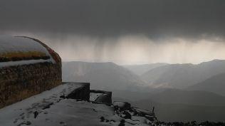 More rain below 4200 meters...