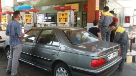 Small panic at the gas station: as we still didn't understand how this new currency works, the value of it, so we had to rely on the honesty of the people. We just showed them the bills and they chose some of them… :)
