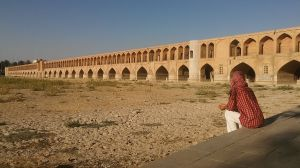 The Zayandeh river in Isfahan has dried out. According to locals the remaining water is used on industrial purposes and for the local population. Soon wars will be fought for water, not for oil…