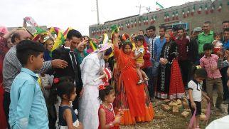 Qashqai wedding in the willage of Hosein Abad in Eastern Iran