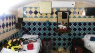 We couldn't contact our host in Shiraz, so we stayed at the Niayesh hostel. It was 11 US dollars