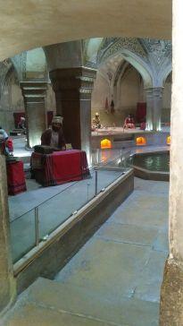 We also had a peak inside the Vakil Bath...
