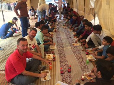 Attending the Qashqai wedding
