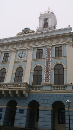 A csernovici városháza