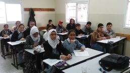 We even went into a school (madrasa) renovated and extended with money from the US government, and the EU…