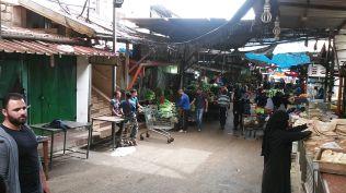 Market street in Qalqilya