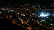 Our guides took us to a viewpoint above Nablus. Several lights are coming from the various Jewish settlements located around the Palestinian town. So we wondered: who's lights are what we see?