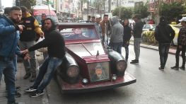 Many young people are unemployed and they are just hanging out on the streets of Ramallah