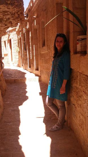 Near the Greek Orthodox Monastery of Temptation