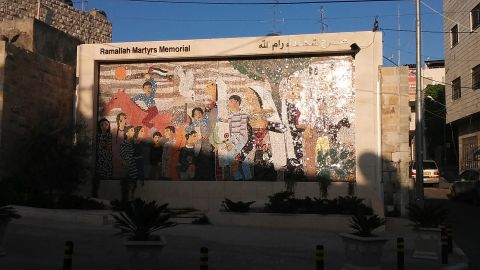 Back in Ramallah