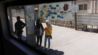 Bus station close to Jerusalem