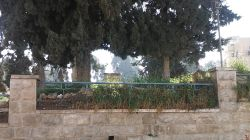Arab cemetery closed off