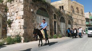Jewish settlers having fun