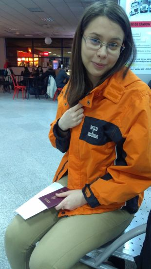 Early hours of March 27, 2018, at the Cluj International Airport: Wild and rough…