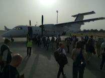 Csádon belül csupán az ENSZ kisgépei közlekednek