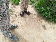 A csádi katonák felszerelése
