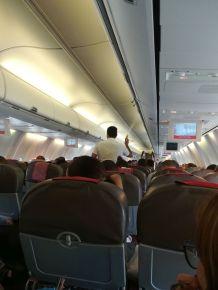 A Royal Air Maroc légitársasággal utaztam N'Djamena városából Casablancába. Befújtak nekünk... :)