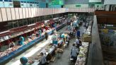A nagy élményt a húspiac jelentette: a több évtizedes mérlegek, a csarnok stílusa időutazást jelentett