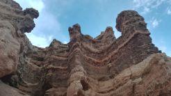 Két és fél kilométert túráztunk a kanyon alsó részén húzódó sétálóúton