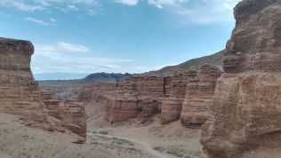 A kazah Grand Canyon